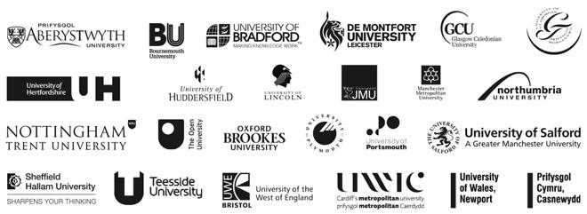 UA member university logos