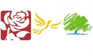 Political party logos