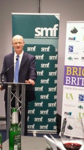 David Willetts speaking at our Bright Britain reception