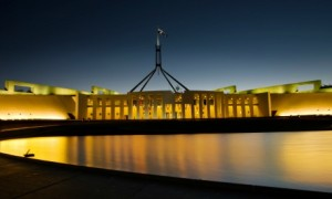 Australian Parliament House. Image by Sam Ilic