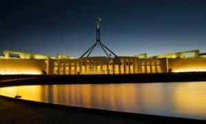 Australian Parliament House. Image by Sam Ilic