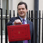 Chancellor George Osborne outside No.11 Downing Street on Budget Day  Credit: Crown Copyright