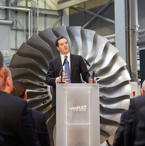 Chancellor speaking at the High Value Manufacturing Catapult Summit in Coventry