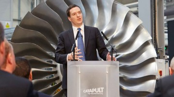 Chancellor speaking at the High Value Manufacturing Catapult Summit in Coventry Credit: Crown Copyright