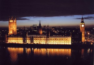 Houses of Parliament at night (Image credit: UK Parliament www.parliament.uk)