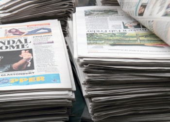 Newspapers for Hacking story