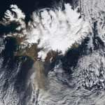 image eruption of eyjafjallajokull by Nasa Goddard Space Flight