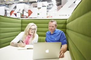 Start-up companies in Manchester Met's flexible and low-cost business incubation hub, Innospace