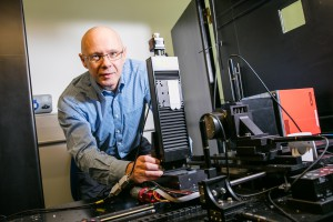 Professor Paul Evans work on X-ray imaging is improving travellers' safety and security (Credit: Nottingham Trent University)