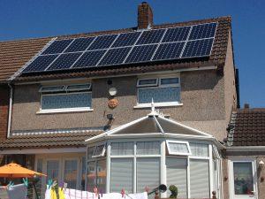 Solar panels on house pic for KAVERN Kingston