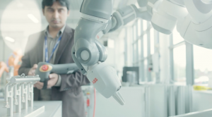 AME collaboration robots research innovation video still coventry