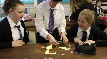 Pupils help the University of South Wales develop an inspiring engineering lesson