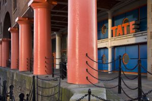 The Tate Art Galley in the Albert Dock, Liverpool