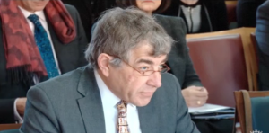 Professor Alistair Fitt, VC Oxford Brookes, giving evidence to Education Select Committee
