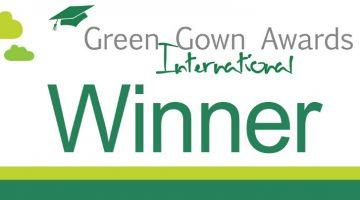 International Green Gown Award Winner