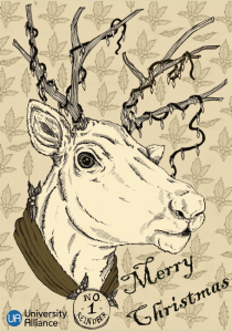 2017 Christmas Card designed by Georgie Underwood
