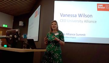 Vanessa's summit speech